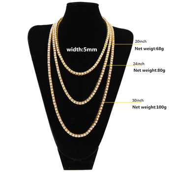 Hip Hop Bling Bling Iced Out Necklaces 1