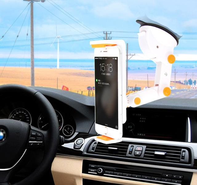 Ajustable Plegable Clip de Succión Rotativa Teléfono Móvil GPS soporte para Coche Soporte montaje Para Leagoo M8 T10 Shark 1 Elite 5, Elite 3,