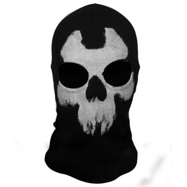 Mayitr 1pc Balaclava Skull Mask 4 Styles Ghost Skull Motorcycle Cycling Full Face Airsoft Game Cosplay Mask New 5