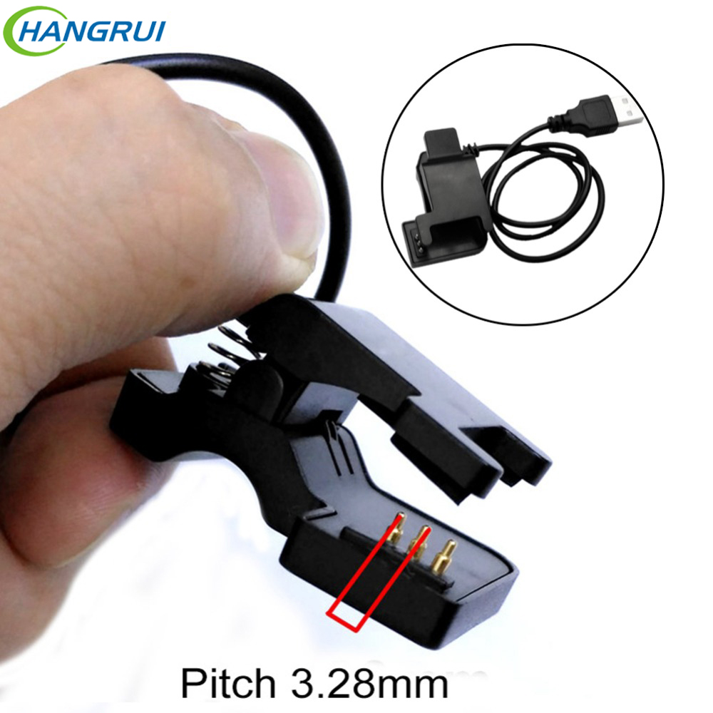HANGRUI TW64 TW68 Smart Watch Charger Universal USB Charging Cable 2 Pin 4mm 5.5mm 3 Pin 6mm Clip Smart Bracelet Charger Wire