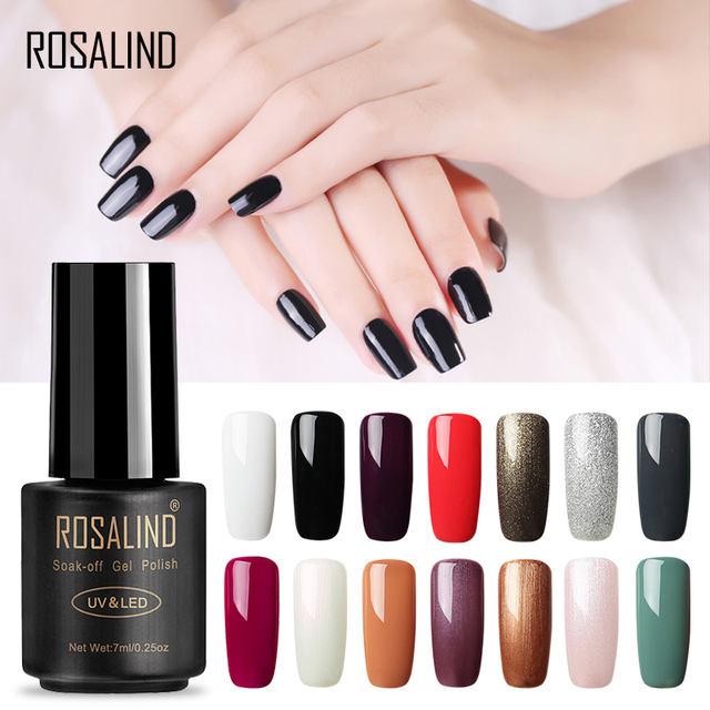 Rosalind 7ml 01 30 Semi Permanent Soak Off Salon Uv Nail Gel Polish Primer