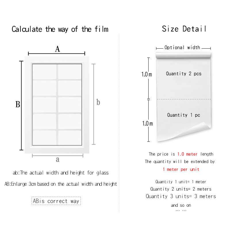 40/50/60/70/80*200/500 CENTIMETRI in un modo specchio finestra pellicola autoadesivo autoadesivi di vetro UV riflettente trasferimento di calore del vinile pellicola Solare
