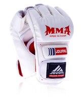 Leather Half Finger MMA Muay Thai Kick Boxing Fight Boxing Gloves Mitts Sanda Karate Sandbag Taekwondo