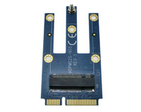 Mini PCIe To NGFF SSD Adapter MPCIe Convertor For M2 Wifi Bluetooth GSM GPS LTE WiGig