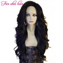 8A grade Glueless Full Lace wigs with baby hair 150 density Wavy style cheap price Brazilian Lace Front wigs virgin hair
