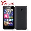 "Original nokia lumia 635 abrió el teléfono de windows 4.5 ""quad core 1.2 ghz 8 gb rom 5.0mp 3g gps wifi freeshipping"