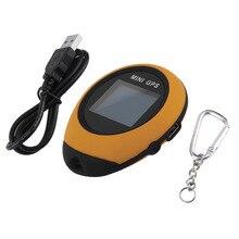 Mini Tracker GPS de Mano Llavero USB Recargable En Tiempo Real Dispositivo de Localización Para Niños Coche Ancianos Bicicleta Mascota Recorrido Al Aire Libre