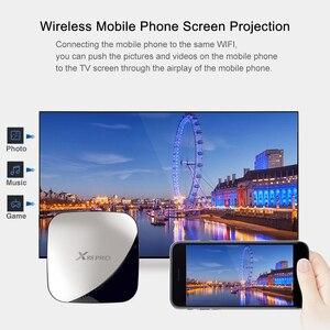 Image 5 - Android 9.0 TV BOX x88 pro 4GB RAM 32GB Rockchip RK3318 Quad core 2.4&5G Dual Wifi H.265  4K Google Player x88pro with IR Remote