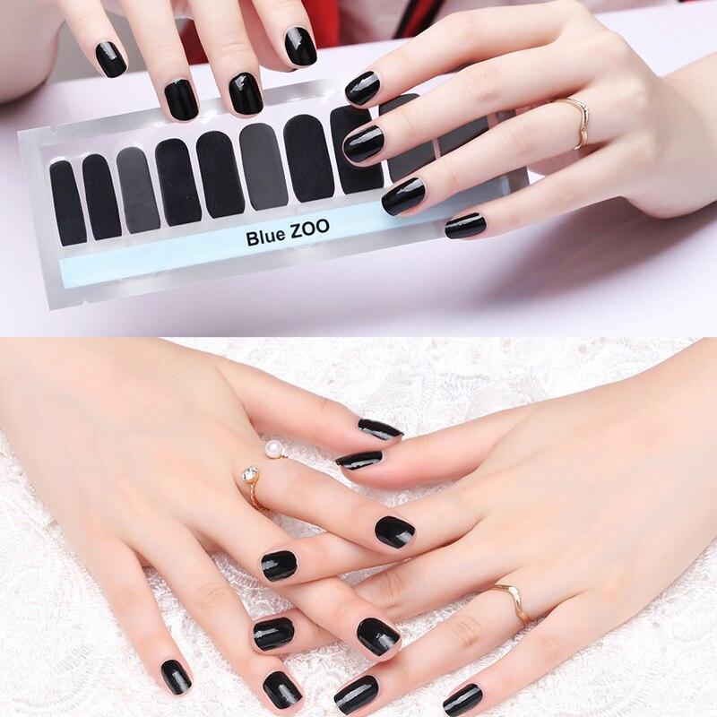 bluezoo nail stickers dry polish