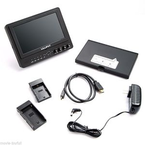 "Image 5 - Lilliput 7"" 665/S HD SDI Monitor on camera monitor SDI HDMI Composite YPbPr AV for BMCC DSLR HDV Peaking"