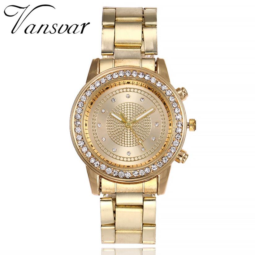 Simple Watches Rhinestones Dress Woman Watch Rose Gold Ladies Watches Clock Female Fashion Women ladies Hot Sale Elegant New M3 dress watches women ladies gold