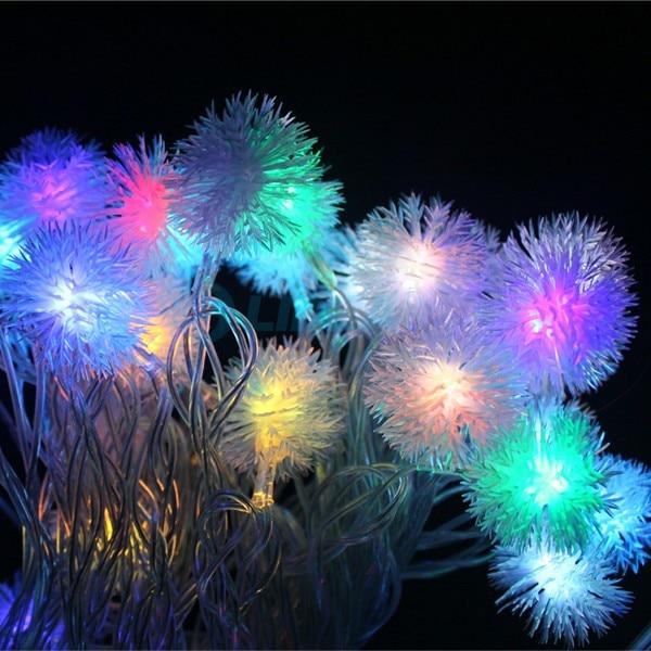 9M 50 LED Snowflake Garden Dom Nowy Rok Xmas Girlanda LED Dekoracja - Oświetlenie wakacje - Zdjęcie 5