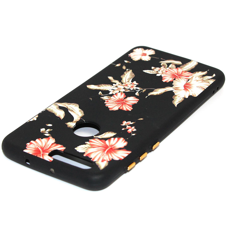 3D Relief flower silicone case huawei honor 8 (38)