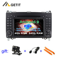 PX6 Android 9.0 Car DVD multimedia Radio GPS for Mercedes Benz B200 W169 W245 Viano Vito W639 Sprinter W906 VW Crafter