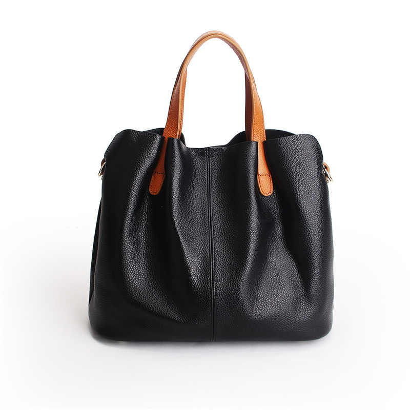 Nesitu Новый Черный, красный, серый цвет синий Фиолетовый Натуральная кожа Для женщин Сумки натуральной кожи; женская сумка через плечо в стиле «Курьерские сумки Tote # M156