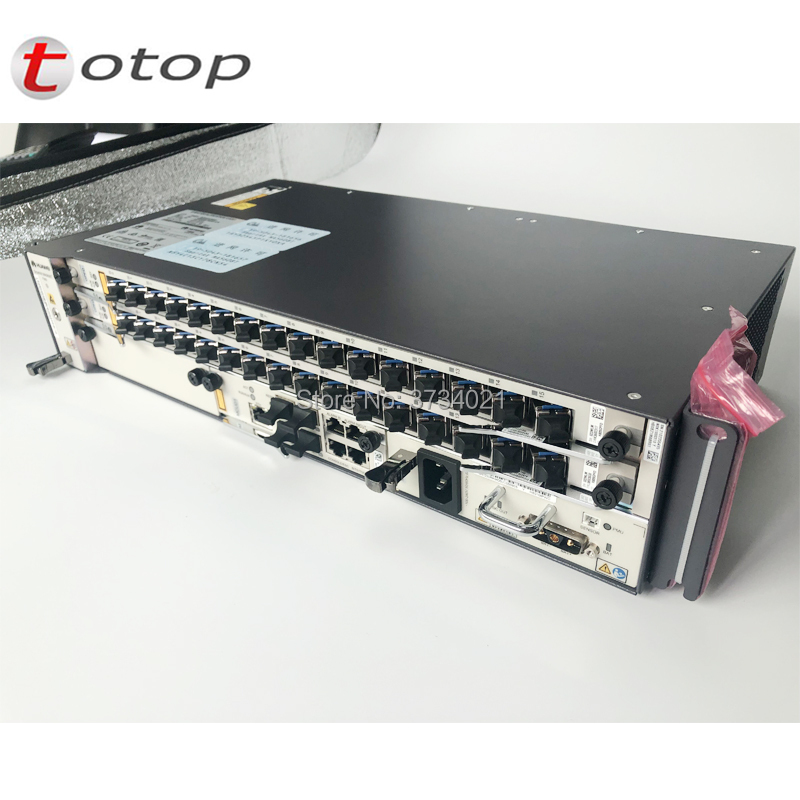 Original New HW 19 Inch 1G GEPON OLT MA5608T 1*MCUD 1*MPWD AC GPON/EPON Optical Line Terminal 2U Height With 8 Port GPBD C+ Card