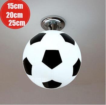 Led plafondlamp globe plafond lampen babykamer basketbal ...