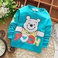 2016 Baby Infant Boy Hoodie Long Sleeve  Children Clothes Hooded Cartoon Sweatshirt Anime 6-24 Months