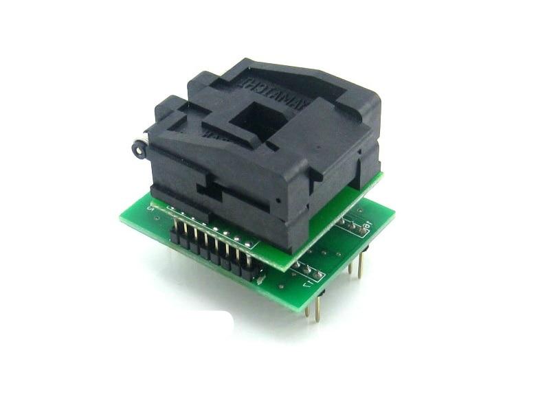 все цены на New Flap PLCC32 To DIP32 Programmer Universal Converter Adapter Socket онлайн