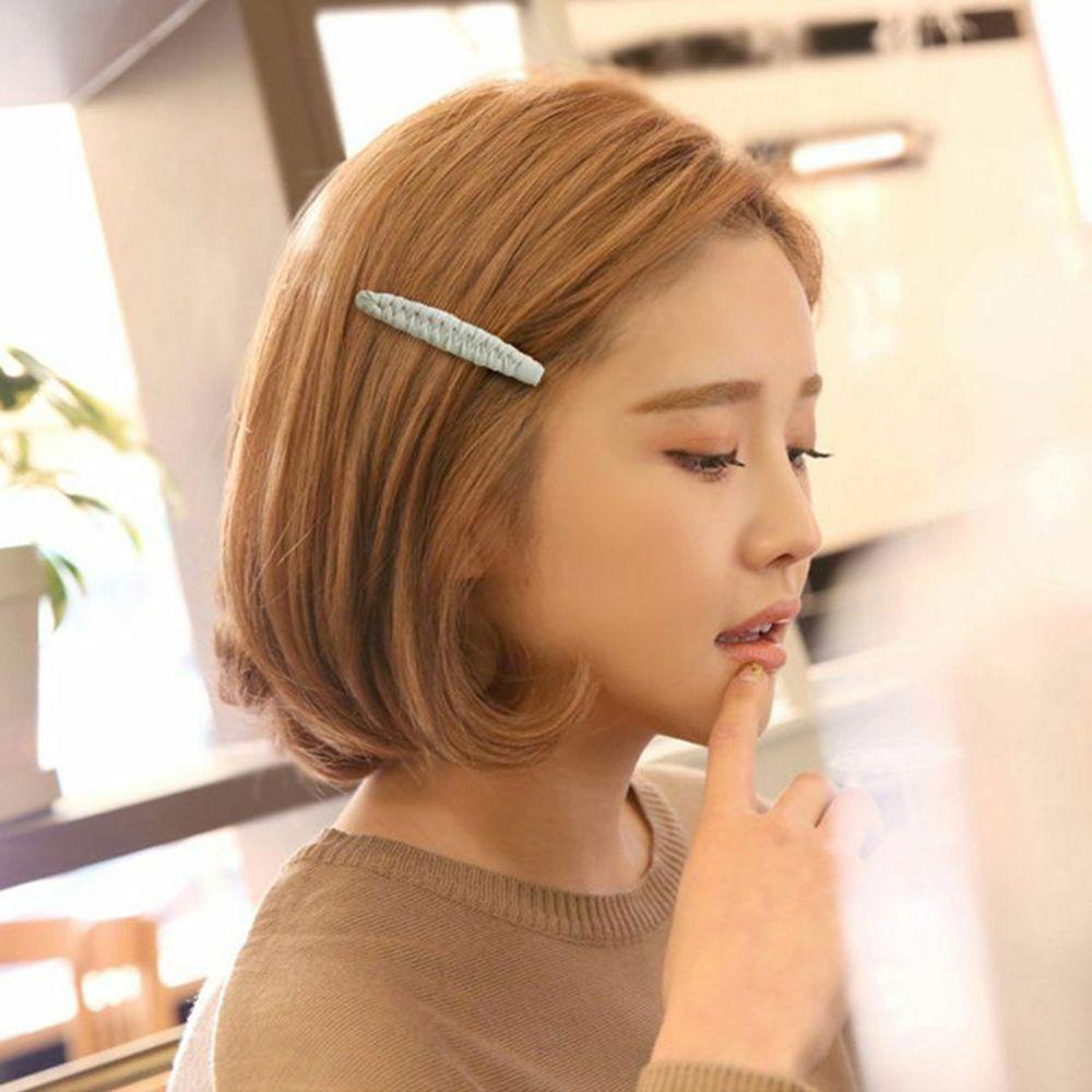 Aufstrebend 1 Pc Mode Frauen Koreanische Große Haar Pin Bb Clip Mädchens College Grips Haar Side Clips Haar Zubehör Für Mädchen Drop Verschiffen