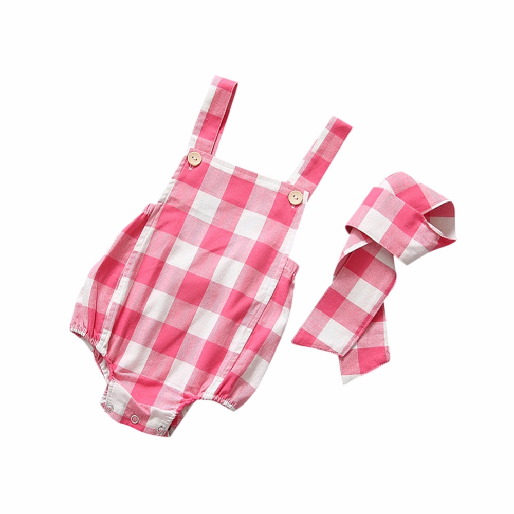 2PCS Newborn Baby Clothing Sleeveless Headband Baby Rompers Girls Boys Clothes roupas de bebe infantil costumes newborn baby clothing spring long sleeve cotton baby rompers cartoon girls clothes roupas de bebe infantil boys costumes
