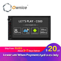 Ownice C500 7 1024 600 Android 6 0 Quad Core 2 Din Universal For Nissan GPS