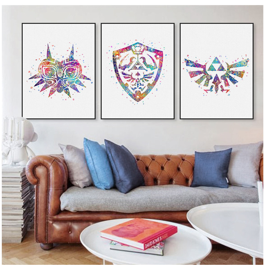 3pcs <font><b>diamond</b></font> embroidery <font><b>Legend</b></font> <font><b>of</b></font> <font><b>Zelda</b></font> Logo Game Movie <font><b>diamond</b></font> <font><b>painting</b></font> cross stitch <font><b>diamond</b></font> mosaic wedding decorationZP-055 image