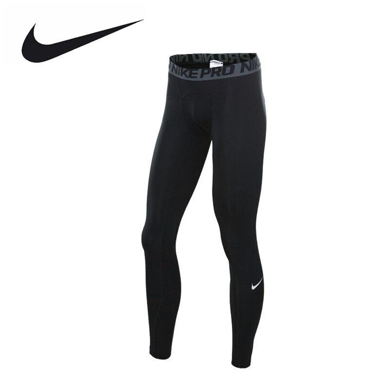 NIKE Original New Arrival Authentic PRO COOL Men's Pants Sportswear 703098-010 original new arrival 2017 nike pro classic logo read women s sports bras sportswear