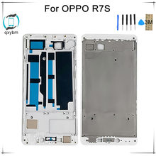 5.5 Inch for OPPO R7s Mobile phone Mid Middle Frame Bezel Case Faceplate Plate Replacement Factory Price with Tools(China)