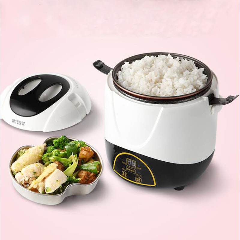 Mini smart rice cooker 1 2 to 3 people fully automatic booking multi function single student dormitory Mini Pot home