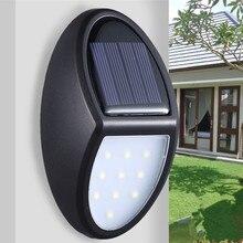 Светодиодный Солнечный Свет Энергосберегающее водонепроницаемое освещение декоративная умная настенная лампа садовое освещение