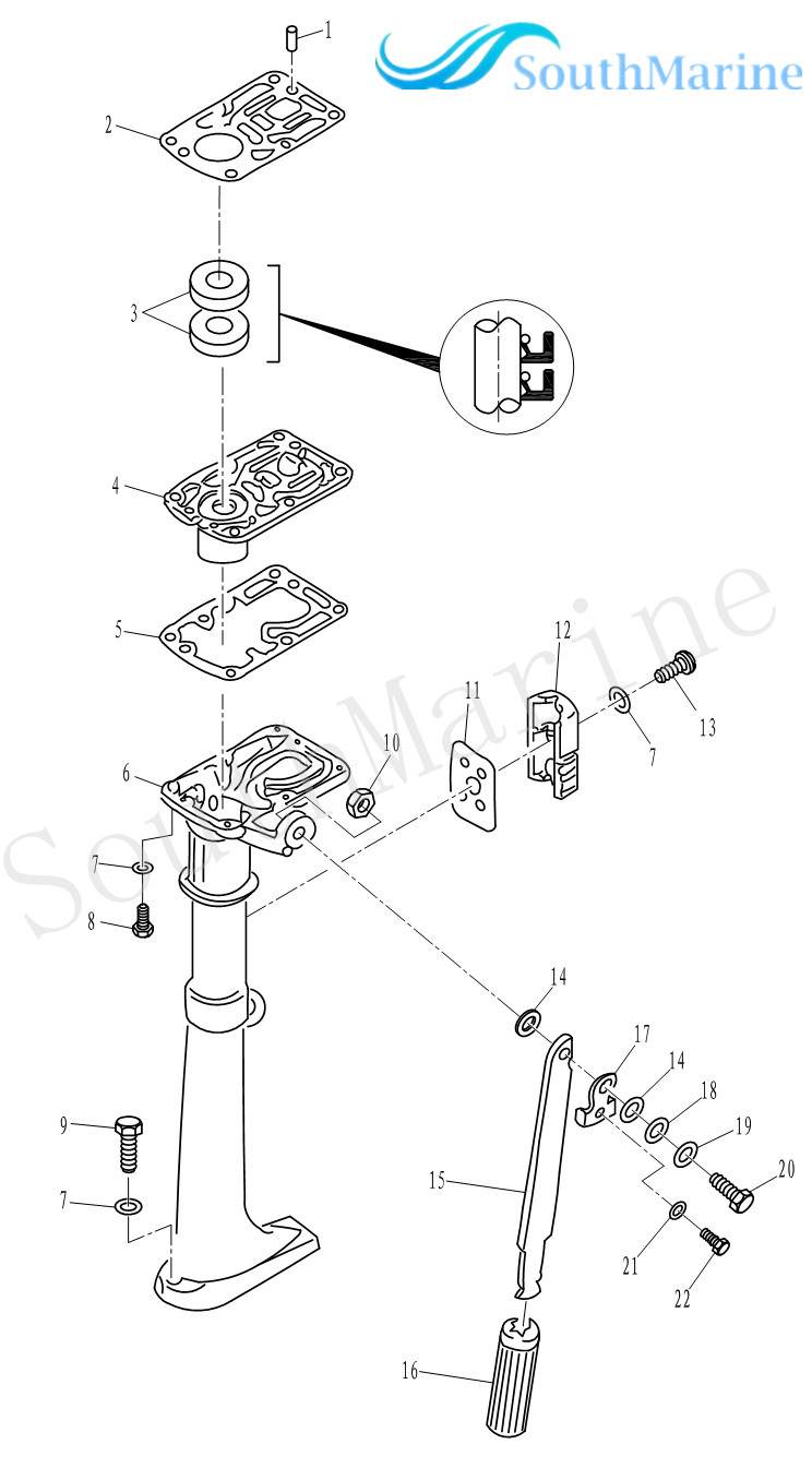 Gk 19 Carburetor Diagram Trusted Wiring Tecumseh Linkage Ps T2 00000004 Engine Gasket For Parsun 2 Stroke Carb