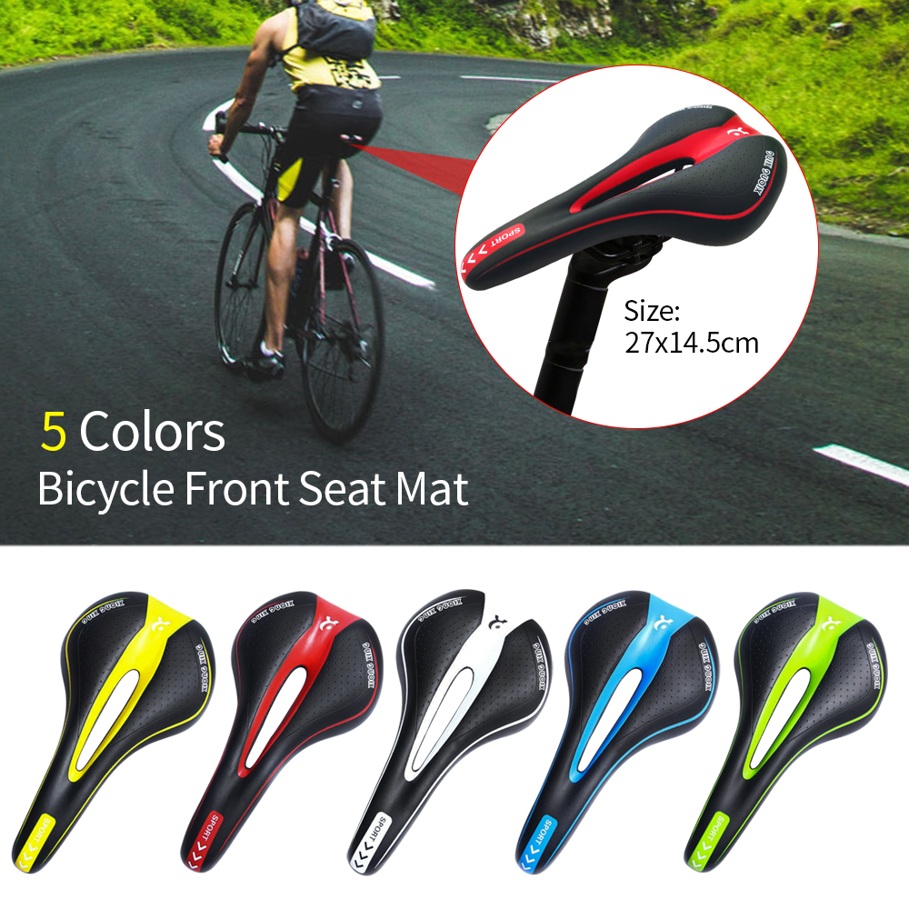 Carbon Fiber MTB Road Bike Saddle Mountain Bicycle Cycling Seat Cushion Pad ha