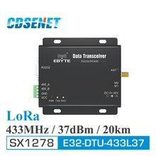 LoRa SX1278 433 MHz daleki zasięg 5W odbiornik nadawczo odbiorczy 37dBm 20km CDSENET E32 DTU 433L37 RS232 RS485 433 MHz wifi Port szeregowy