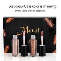 6 Color Set Liquid Matte Lipstick Waterproof Long Lasting Makeup Lip Stick Glitter Metallic Lip Gloss