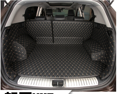 Good quality! Special trunk mats for KIA Sportage 2018-2016 waterproof boot carpets cargo liner for Sportage 2017,Free shipping