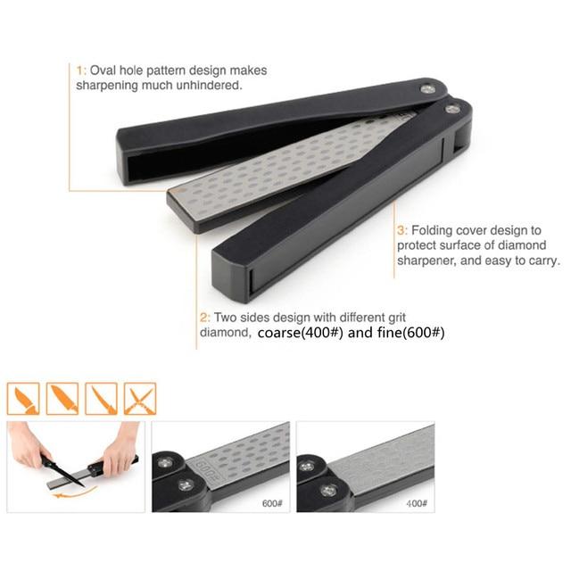 Image result for Double sided Fold Knife Sharpener