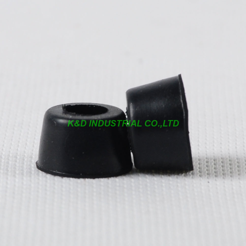 30pcs Small Round Rubber Feet 17X10mm for Bumpers Industrial Amp Case Chassis in Plug With Socket from Consumer Electronics