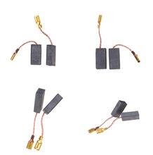Mini perceuse électrique de 10 pièces, broyeur électrique de remplacement brosses en carbone, pièces de rechange pour moteurs électriques, outil rotatif de 15*8*5mm