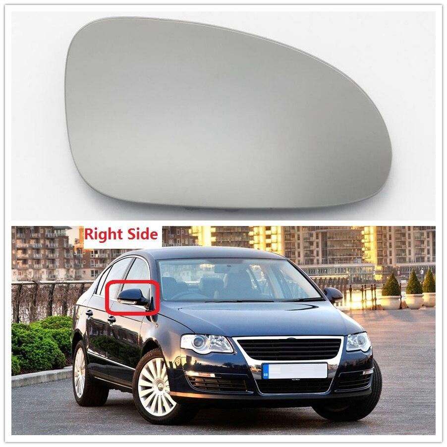 Pour VW Passat B6 CC 3C R36 TDI TFSI TSI 2006 2007 2008 2009 2010 2011 Voiture de Coiffure Miroir En Verre Chauffée Droit Passager côté