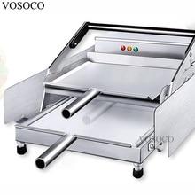 VOSOCO hamburger machine toaster 850W baked Hamburg double layer machine board bun toaster Food baking McDonald's /KFC Burger