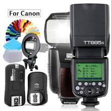 IN560IV plus Wireles Flash OR Godox TT685C Flash TTL HSS Camera Flash speedlite