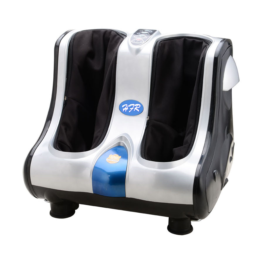 HFR-8810 Luxury Electric Kneading Foot Massager with Two or Four Motors Air Bag Pressing Leg Beauty Machine hfr 8802 3 healthforever brand wireless control kneading device legs instrument electric shiatsu air bag foot massager machine