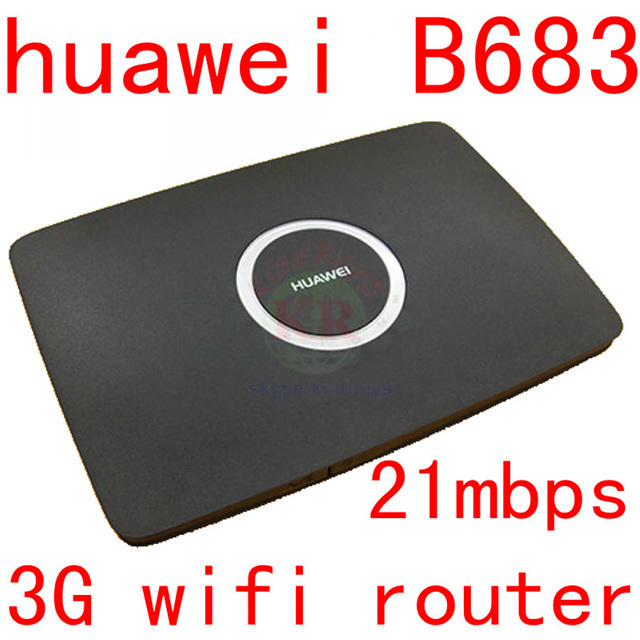 Unlocked Huawei B683 21.6Mbps 3G wifi router HSPA+ Wireless cpe router support USB port WCDMA 900/2100MHZ pk b970 b970b b681