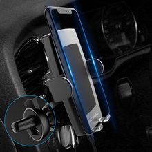 Ranboda 10W Qi Wireless Car Charger for iPhone Xs Max Xr X Samsung S9 S8 Phone Fast automatic clamping Gravity Mount