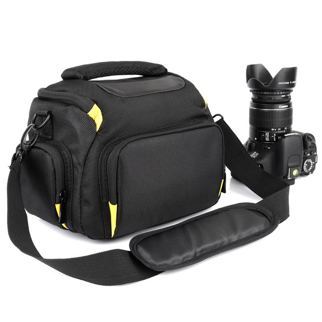 2018 Waterproof Dslr Camera Bag For Sony A7 A7r Iii Alpha Nikon P900 D5300 D3400 D3300