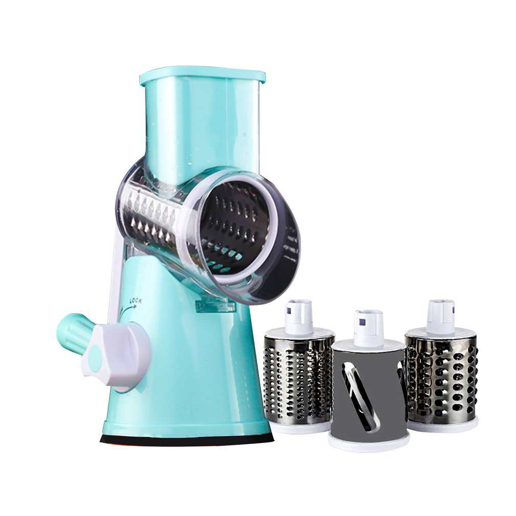 Cutter Kitchen Gadgets Multi function Chopper Hand Roller Rotary Grater Broken Cheese Tools Vegetable Kitchen Accessories
