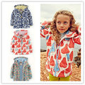 kids coats spring and autumn child trench child windproof waterproof outdoor jacket outerwear baby girls jacket kids girls coats