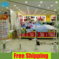 Supermarket anti shoplifting system,theft alarm system 2 security door eas system free shipping
