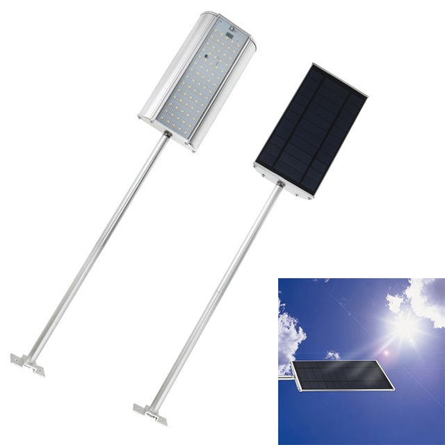 IP65 Waterproof Solar Powered 70 LEDs Sensor Street Light Energy Saving Outdoor Lighting Wall Lamp For Roads Courtyards Gardens